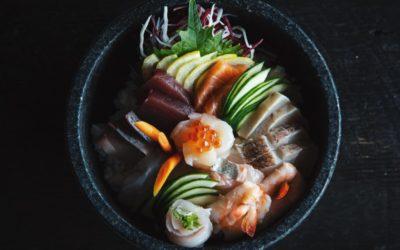 Sushi by Jesse Ballantyne @Unsplash